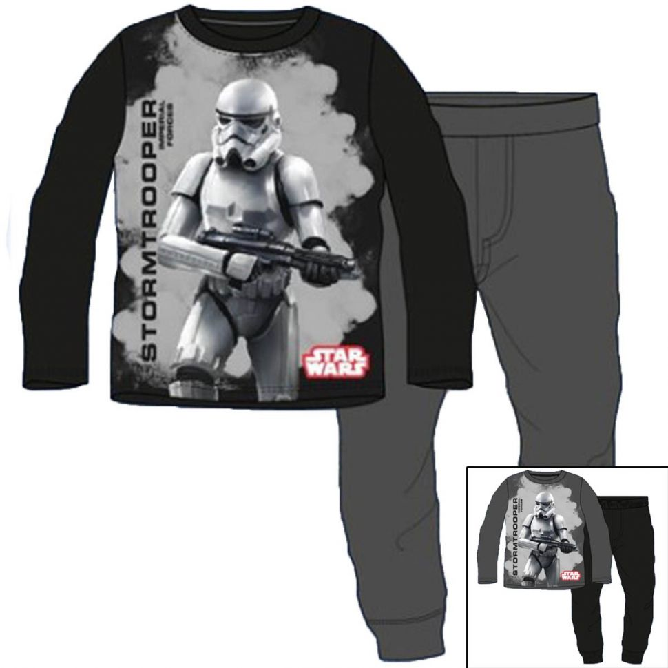 Pyjama long Star Wars du 4 au 12 ans