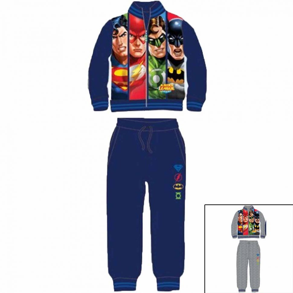 Tracksuit Justice League from 3 to 8 years