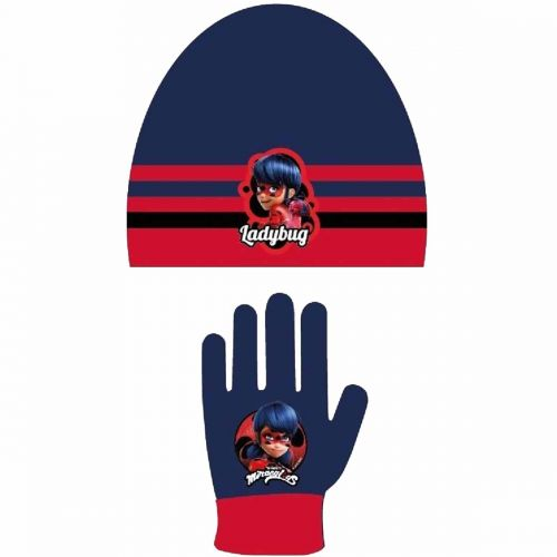 Wintermütze Handschuh LadyBug