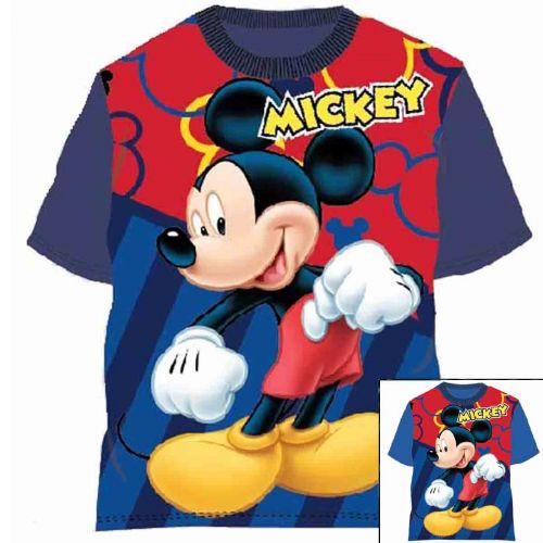 T-shirts with short sleeves Mickey from 2 to 6 years