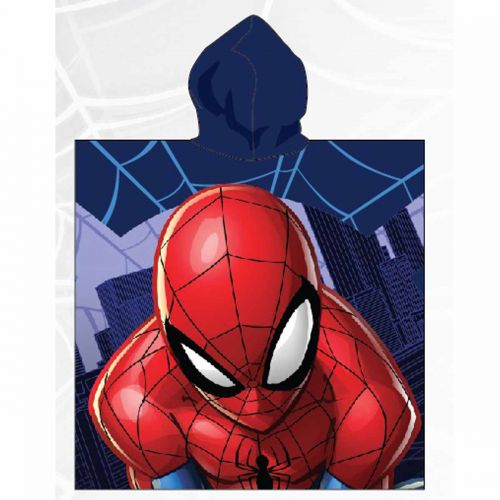 Poncho Spiderman 55x110