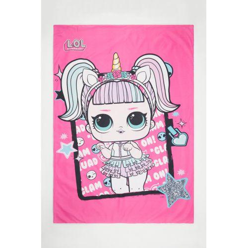 Duvet cover + pillowcase LOL 140x200
