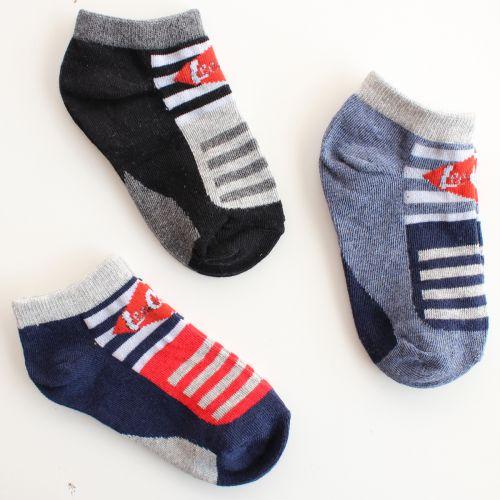 Lot de 3 paires de chaussettes Lee Cooper du 27 au 38