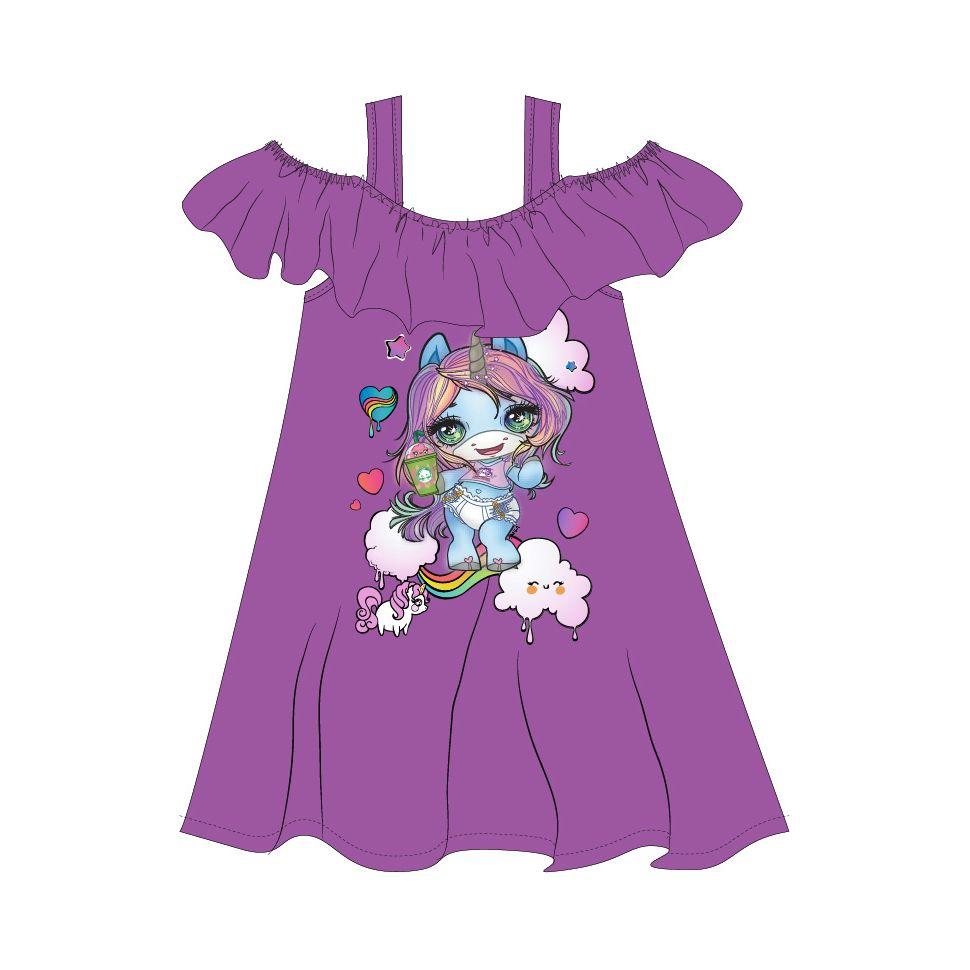 Robe Poopsie du 2 au 8 ans