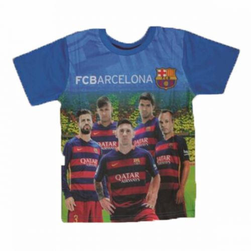 T-shirt manches courtes Barcelone