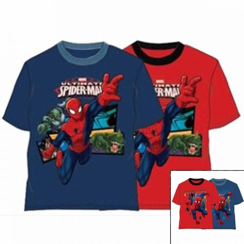 T-shirt short sleeve Spiderman from 3 to 8 years