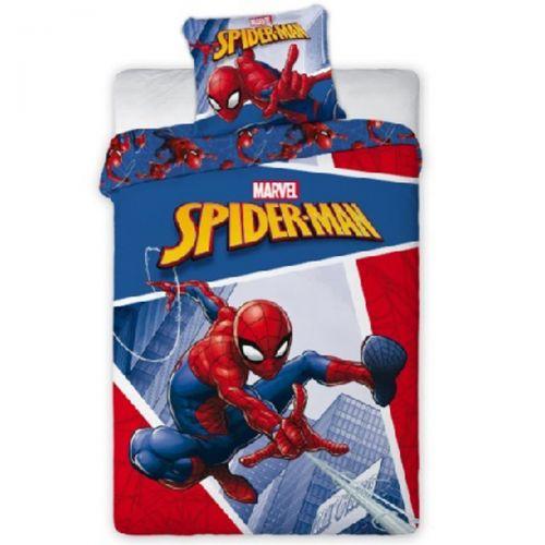 Dekbedovertrek en kussensloop Spiderman 140x200