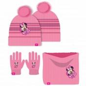 Bonnet gant cache cou Minnie