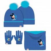 Bonnet gant cache cou Mickey