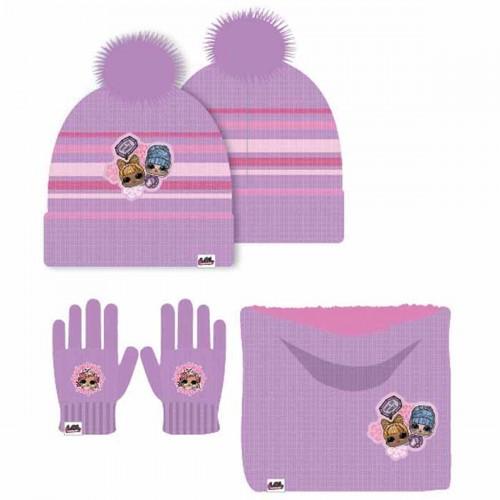 Bonnet gant cache cou LOL Surprise