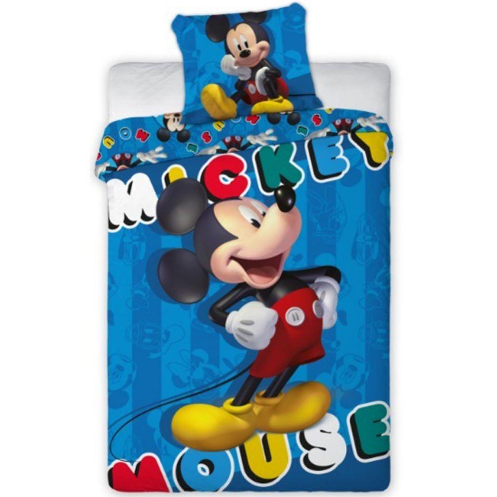 Housse de couette avec Taie d'oreiller Mickey