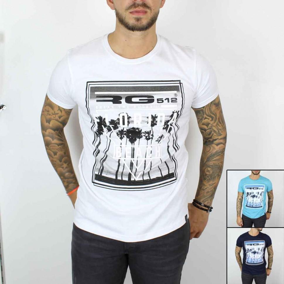 T-shirt manches courtes RG512 du 4 au 14 ans