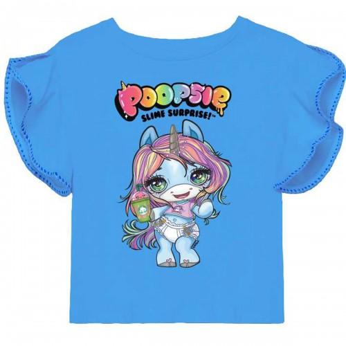 T-shirt manches courtes Poopsie du 104 au 122