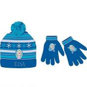 Frozen Muts met sjaal en handschoen