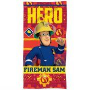 Serviette Sam le Pompiers.