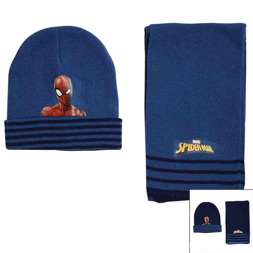 Bonnet echarpe Spiderman