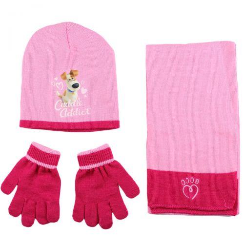 Bonnet gant echarpe The secret life of pets