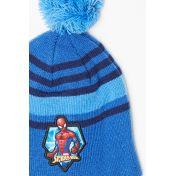 Bonnet avec pompon Spiderman