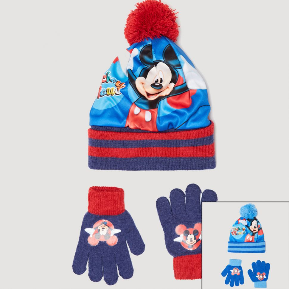 Mickey Muts met handschoen