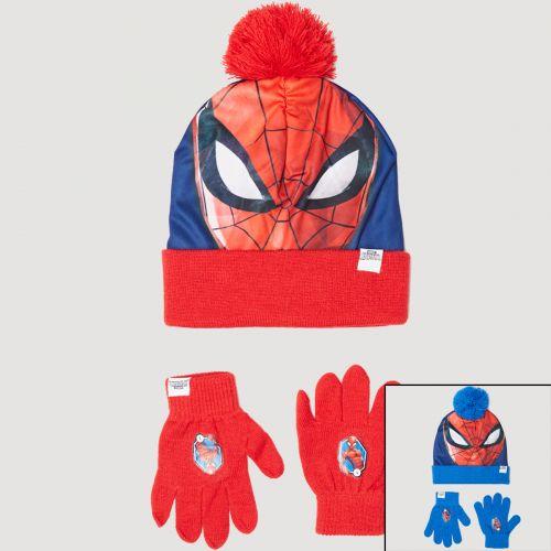 Spiderman Beretto con guanti