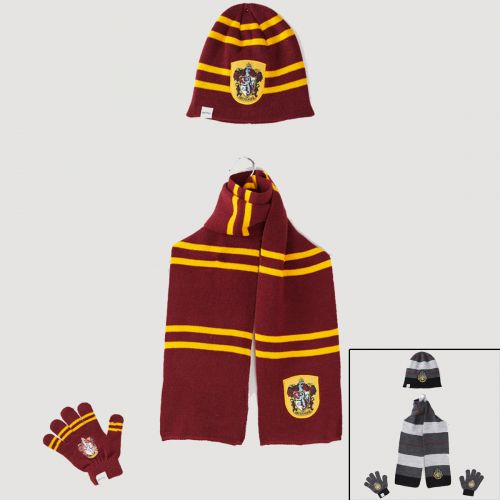 Harry Potter Schal Handschuh Mütze