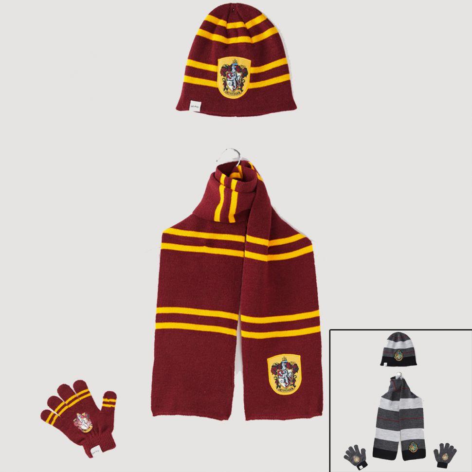 Bonnet gant écharpe Harry Potter