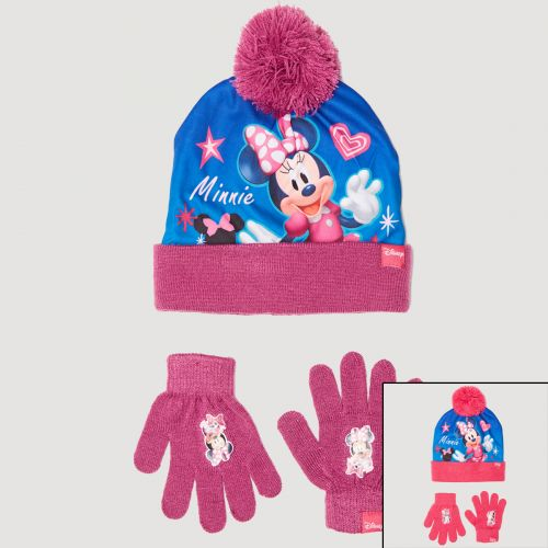 Minnie Beretto con guanti