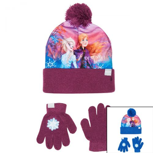 Bonnet gant La Reine des Neiges