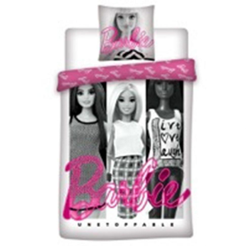 Housse de couette + Taie d'oreiller Barbie