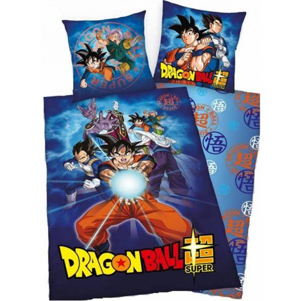 Housse de couette + Taie d'oreiller Dragon Ball Z