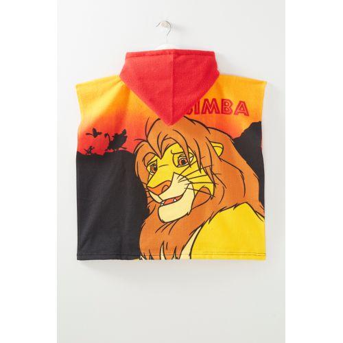 De Leeuwenkoning Poncho handdoek