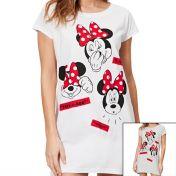 Minnie Nachthemd met lange mouwen vrouw