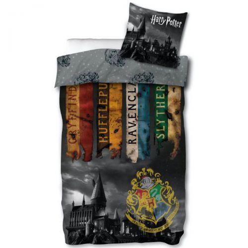 Housse de couette + taie d'oreiller Harry Potter