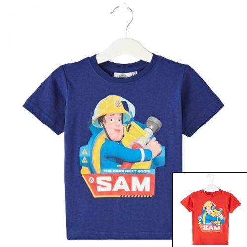 Fireman Sam T-shirts met korte mouwen