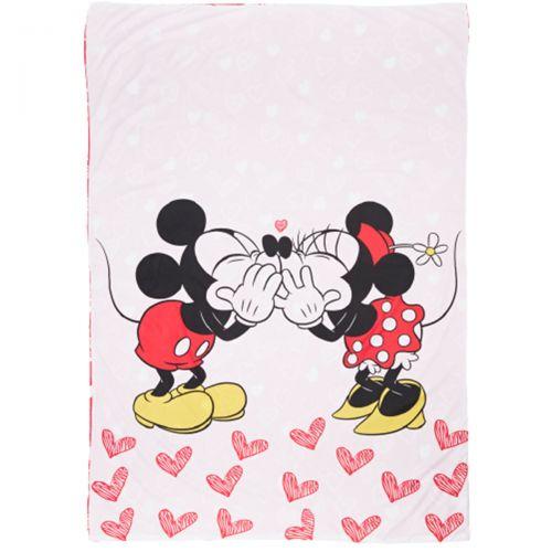Housse de couette + Taie d'oreiller Minnie-Mickey