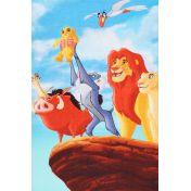 Serviette Le Roi Lion