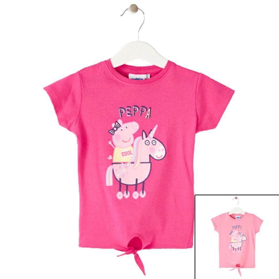 Peppa Pig T-shirts met korte mouwen