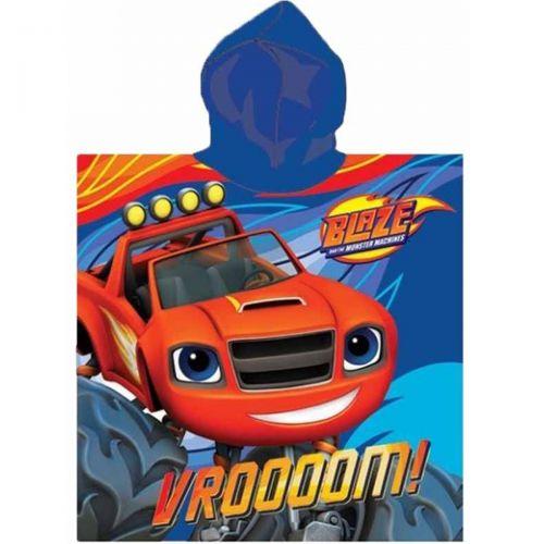 Blaze Poncho towel with a hood
