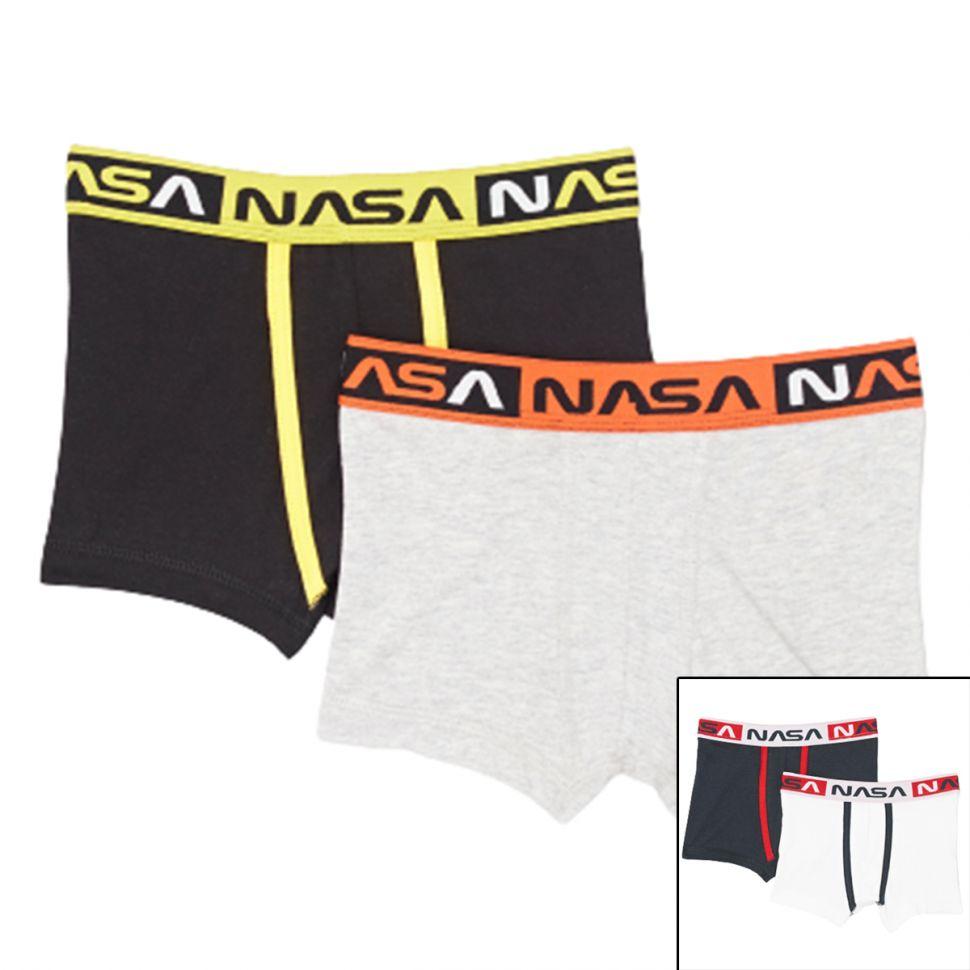 Packs de 2 Boxers Nasa Kids