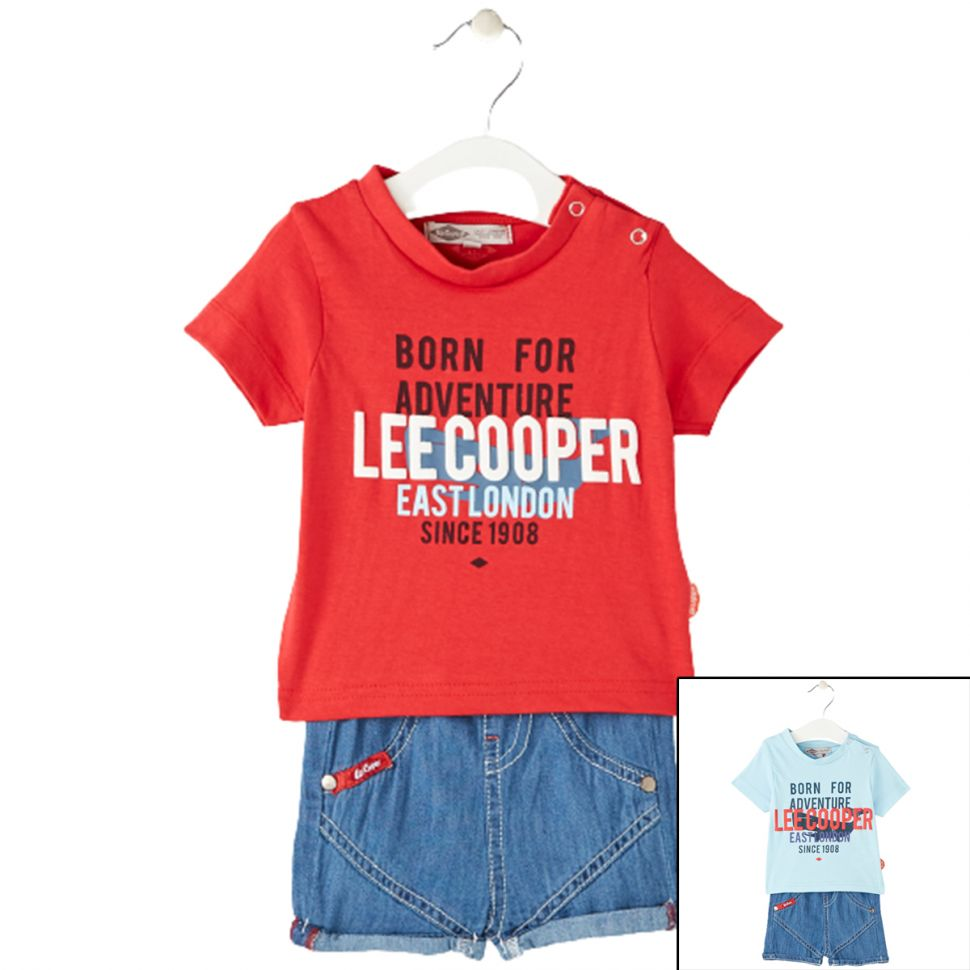 Kleidung von 2 Stück Lee Cooper von 3 bis 24 Monaten