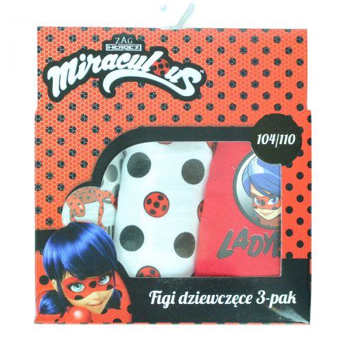 Boite de 3 slips Ladybug