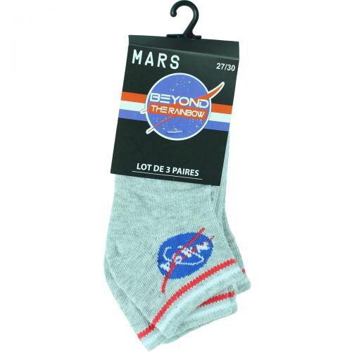 Lot de 3 paires de chaussettes Nasa Kids