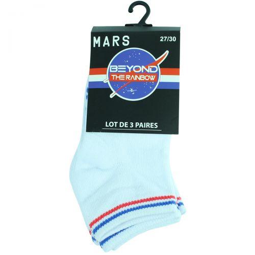 Lot de 3 paires de chaussettes Nasa Homme