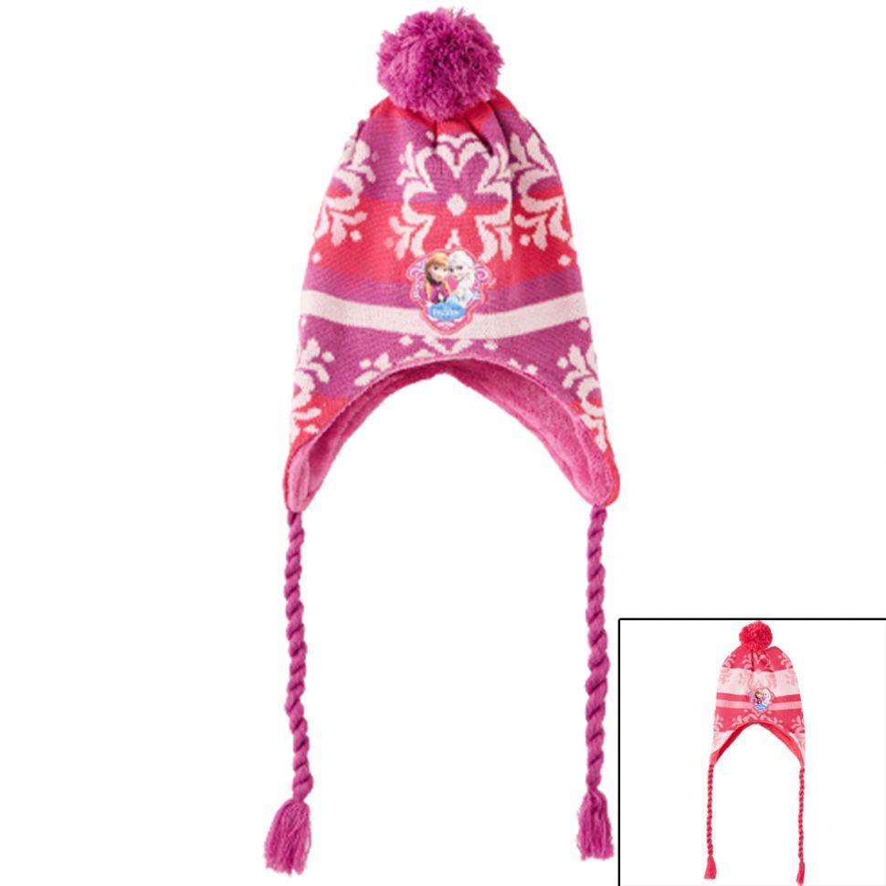 Bonnet péruvien La Reine des Neiges
