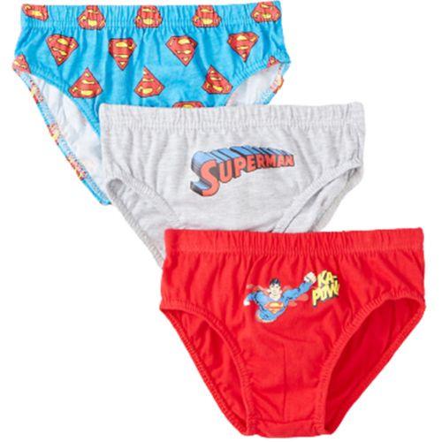 Superman Set mit 3 Slips