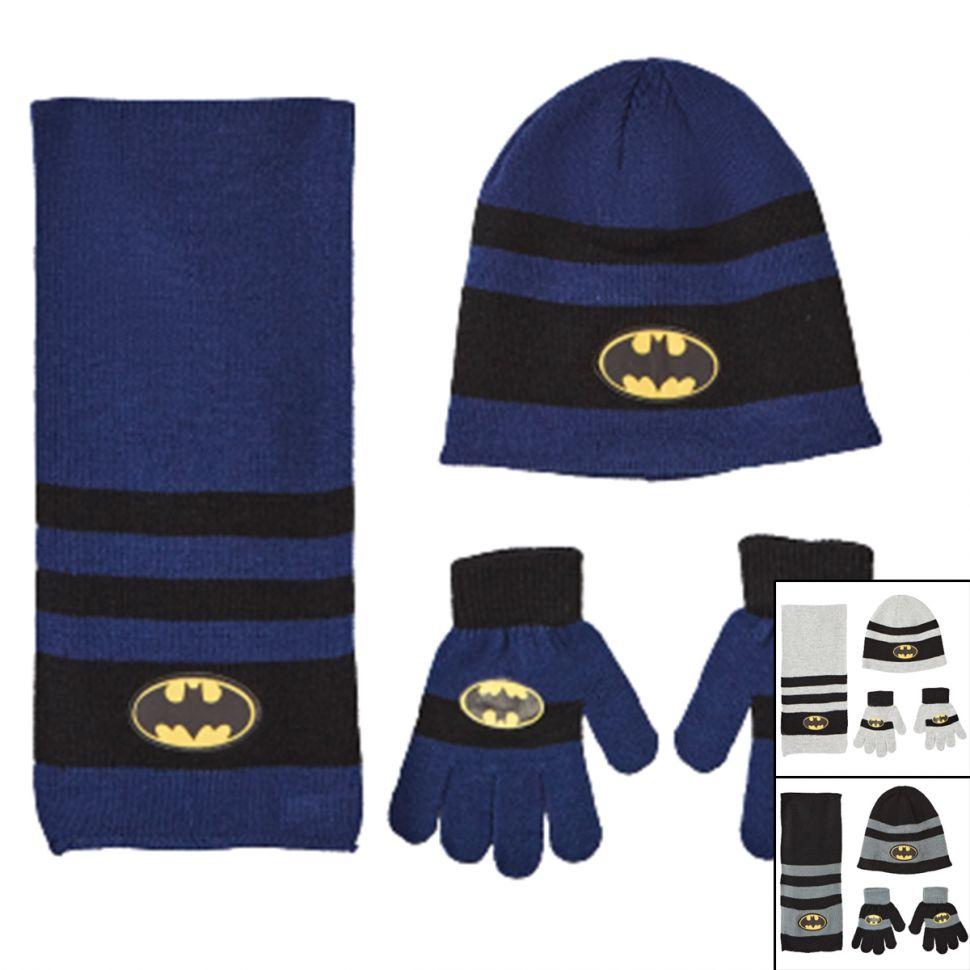 Bonnet Gant Echarpe Batman