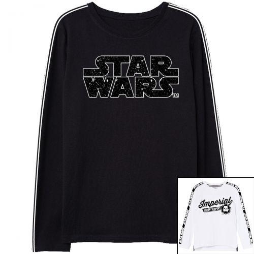 Star Wars Magliette a maniche lunghe
