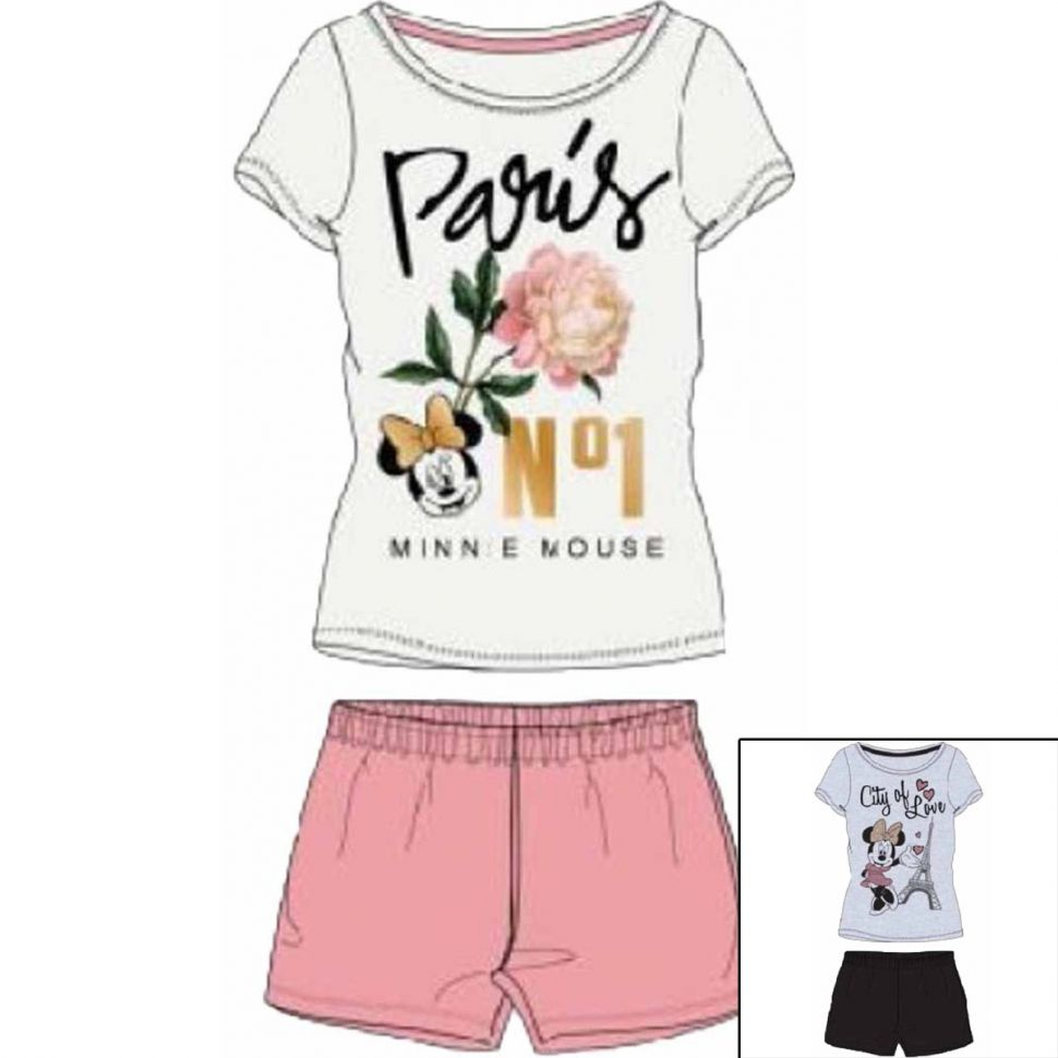 Short pajamas Minnie from S to XL