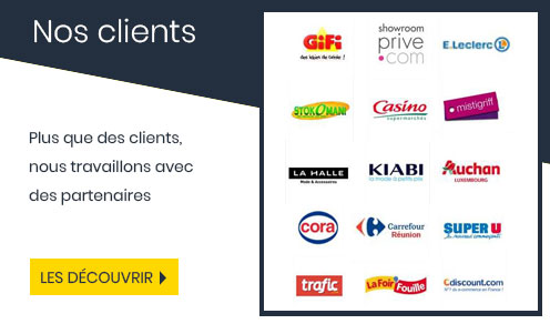 Les clients Kiddystores